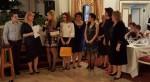 Дамите от ЛК Сексагинта Приста подкрепиха благотворителният бал на ЛК Милениум Сибиу